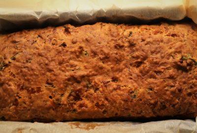 plumcake prezzemolo e scamorza affumicata