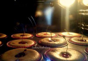 muffin alle ciliegie forno