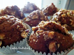 muffins nocciole e caffè
