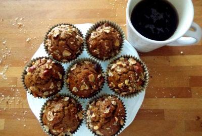 muffins caffè e nocciole