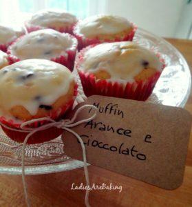 muffins arance e cioccolato