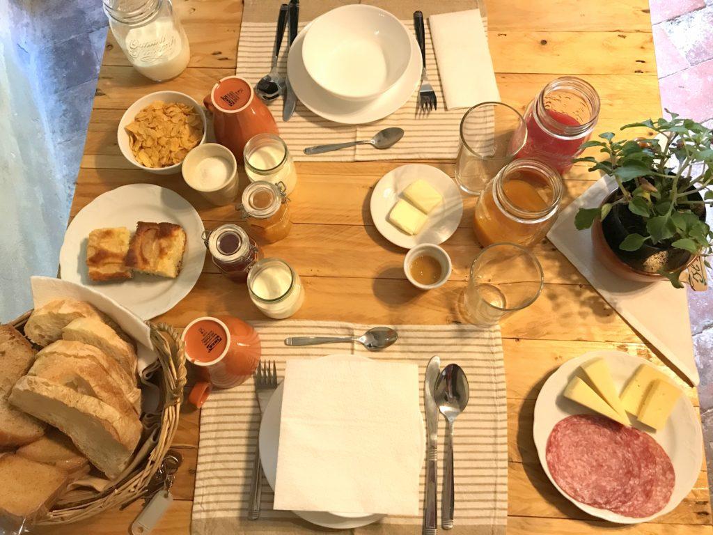 colazione a casa del nespolo