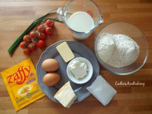 muffin zafferano ingredienti