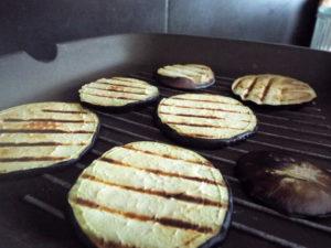 pizzette di melanzane griglia