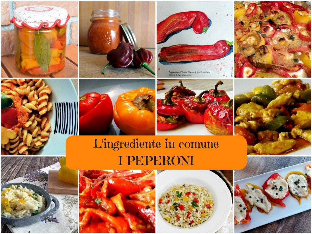 L'ingrediente in comune -I peperoni