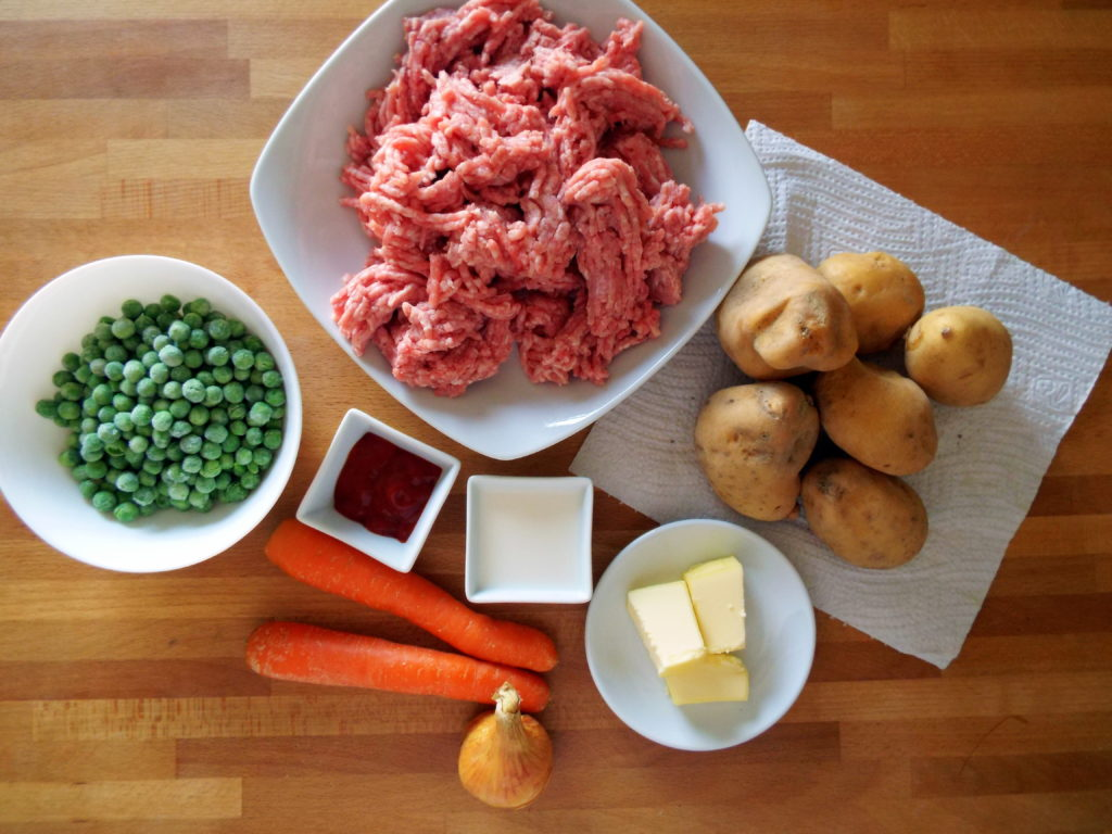 cottage pie ingredienti