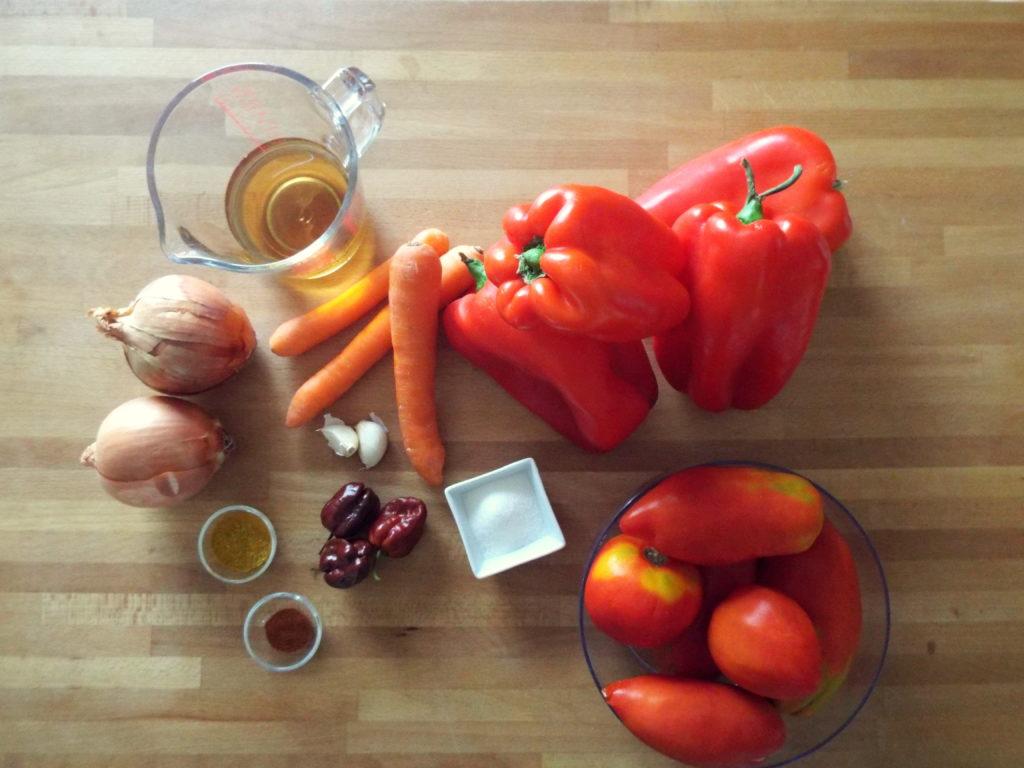 salsa piccante ingredienti